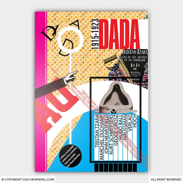 Image of Dada Poster