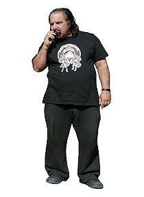 Image of RIDE THE STACHE T-Shirt (Black)