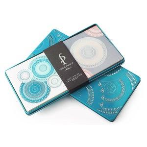 Image of Note Card Set (Petrol Blue)