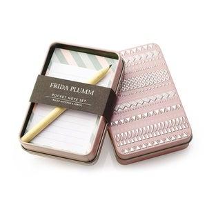 Image of Pocket Note Set (Pink)