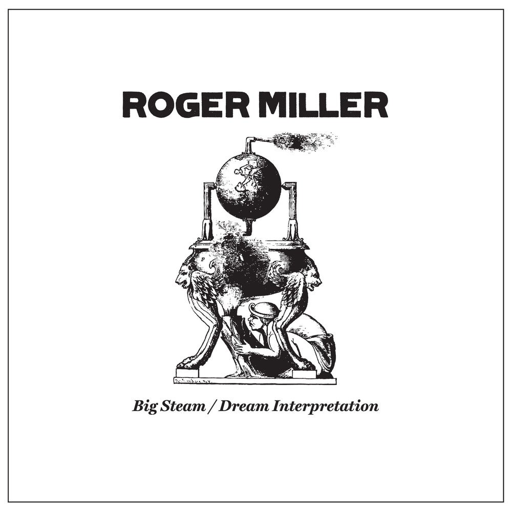 """Image of Roger Miller (Mission of Burma / Alloy Orchestra) """"Big Steam"""" 7-Inch (with download card)"""