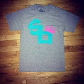 "Image of Square Off Logo Tee ""Miami Vice"""