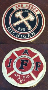 Image of Ann Arbor Firefighters - IAFF Local 693 Challenge Coin