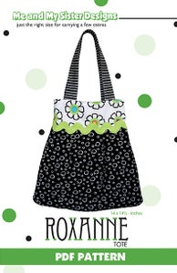 Image of Roxanne Tote PDF pattern