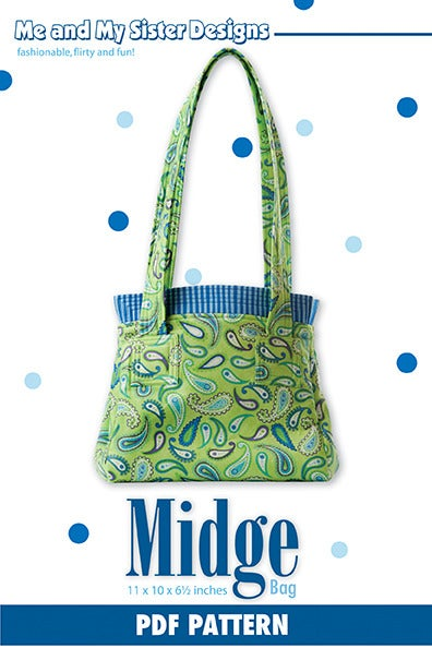 Image of Midge Bag PDF pattern