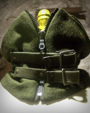 Image of NEW! SH81 [APOCALYPSE COWL2] Reconstructed Military Surplus Neck Warmer