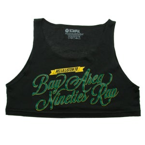 Image of Bay Area Nineties Rap (womens loose crop top)