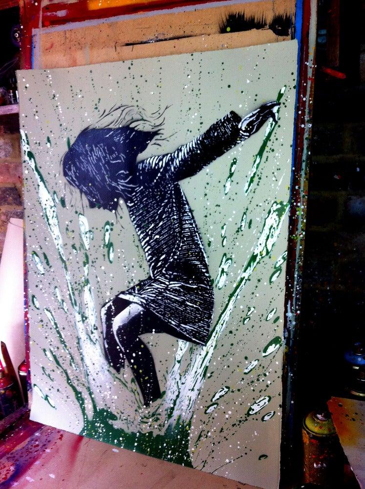 """Image of """"SplashBack"""" -  Olive Edition"""