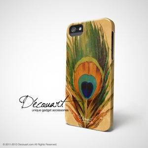Image of Peacock feather iPhone 5 / 4 case S206