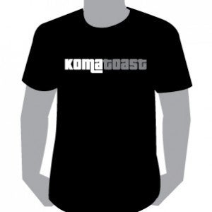 Image of KomaToast tees, Black