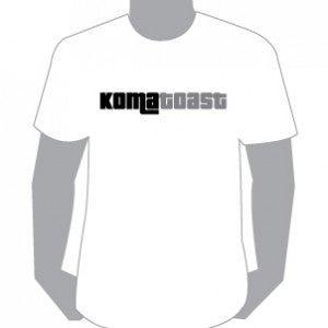 Image of KomaToast tees, White