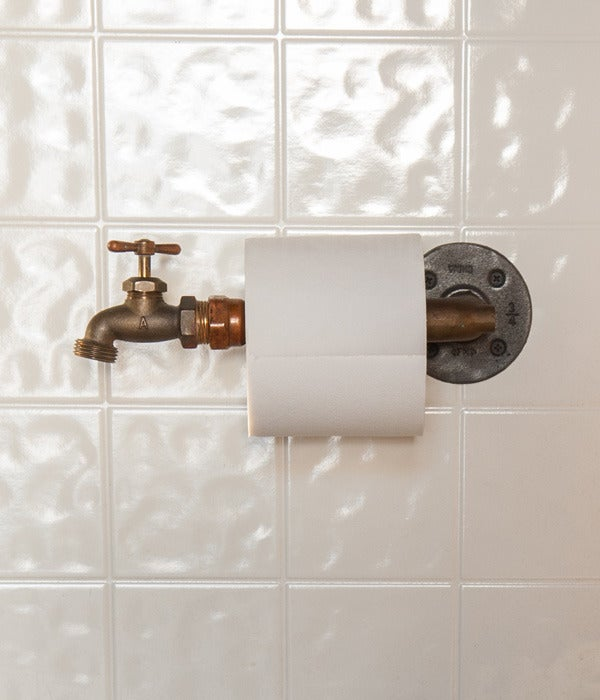 Image of Faucet Toilet Paper Holder