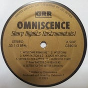 Image of Sharp Objects - Instrumentals + 2 Bonus Remixes (Black Vinyl) **150 ONLY**