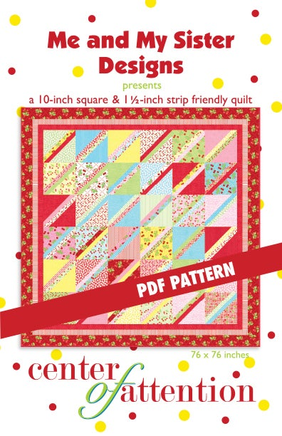 Me And My Sister Designs Center Of Attention Pdf Pattern