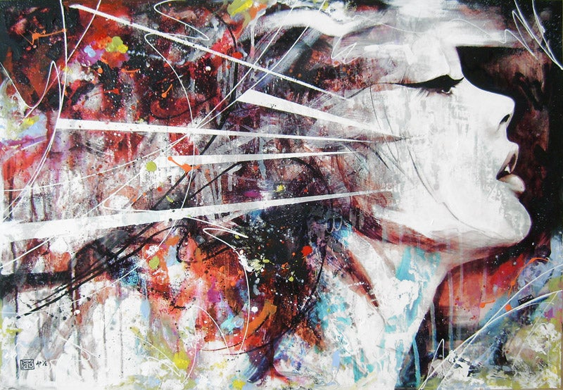 Danny O'Connor ,Mix Media paintings #artpeople