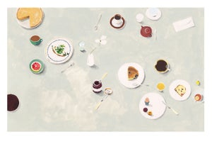 Image of Tea, Coffee & Snacks - print