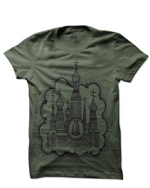 Image of MIR066 THE CATHEDRAL T-Shirt (7 COLORS)