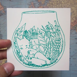 Image of  Terrarium Sticker
