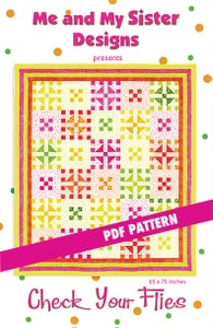 Image of Check Your Flies PDF pattern