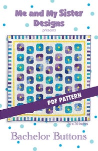 Image of Bachelor Buttons PDF pattern