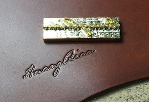 Image of Custom Logo / Name / Personalized Initials Embossing Service