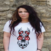 Image of XwwX Shrine of Sekhmet White Tee