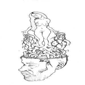 Image of 'A Root In His Mind' Print on Silk