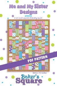 Image of Baker's Square PDF pattern