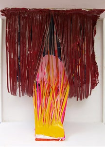 Image of Study for Pink Angel (2013)</br>By Jonathan Gabb</br>Maquette of Sculpture