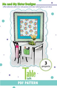 Image of Table Talk PDF pattern