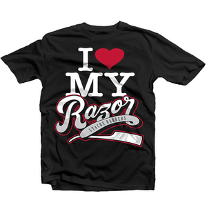 Image of I Love My Razor Tee