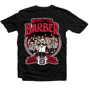 Image of Respect The Barber Tee