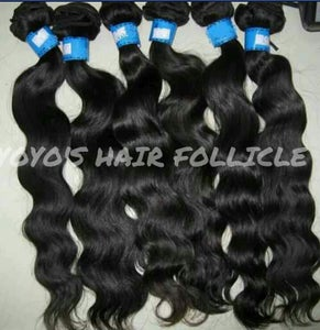 Image of 3 Bundle deal Virgin Brazilian Hair
