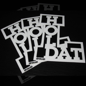 Image of Hold Dat L Sticker • 3-Pack
