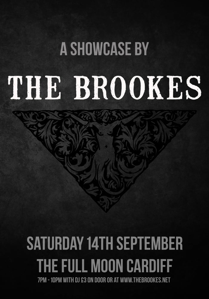 Image of A SHOWCASE BY THE BROOKES TICKET CARDIFF SEPT 14th with show booklet & badge