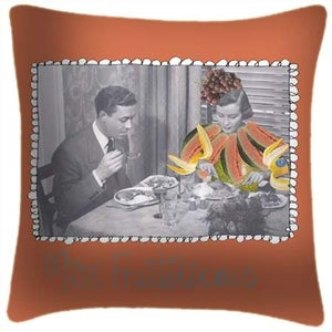 Image of Miss Fruitilicous Cushion