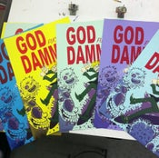 Image of God Dammit: Silkscreen