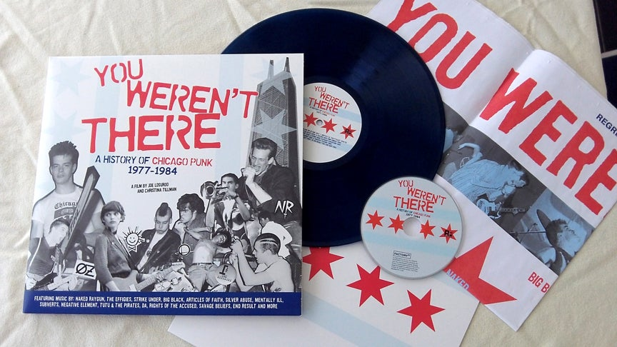 Image of You Weren't There- A History Of Chicago Punk 1977-84 LP/DVD Set