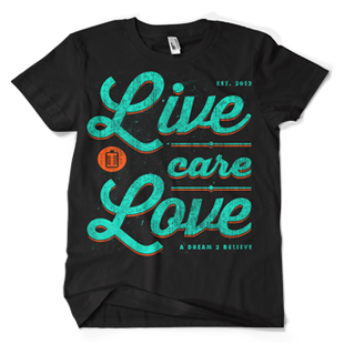 Image of Black Live. Care. Love.