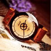 Image of Handmade Watch / Vintage Watch / Wrist Watch / Leather Watch / Quartz Watch (WAT0021)