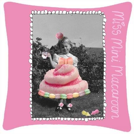 Image of Miss Mini Macaroon Cushion