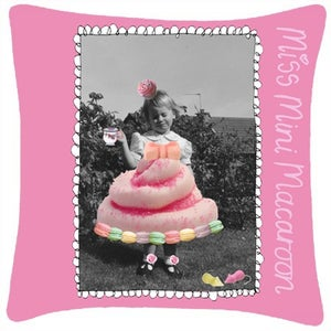 Image of Miss Mini Macaroon Cushion