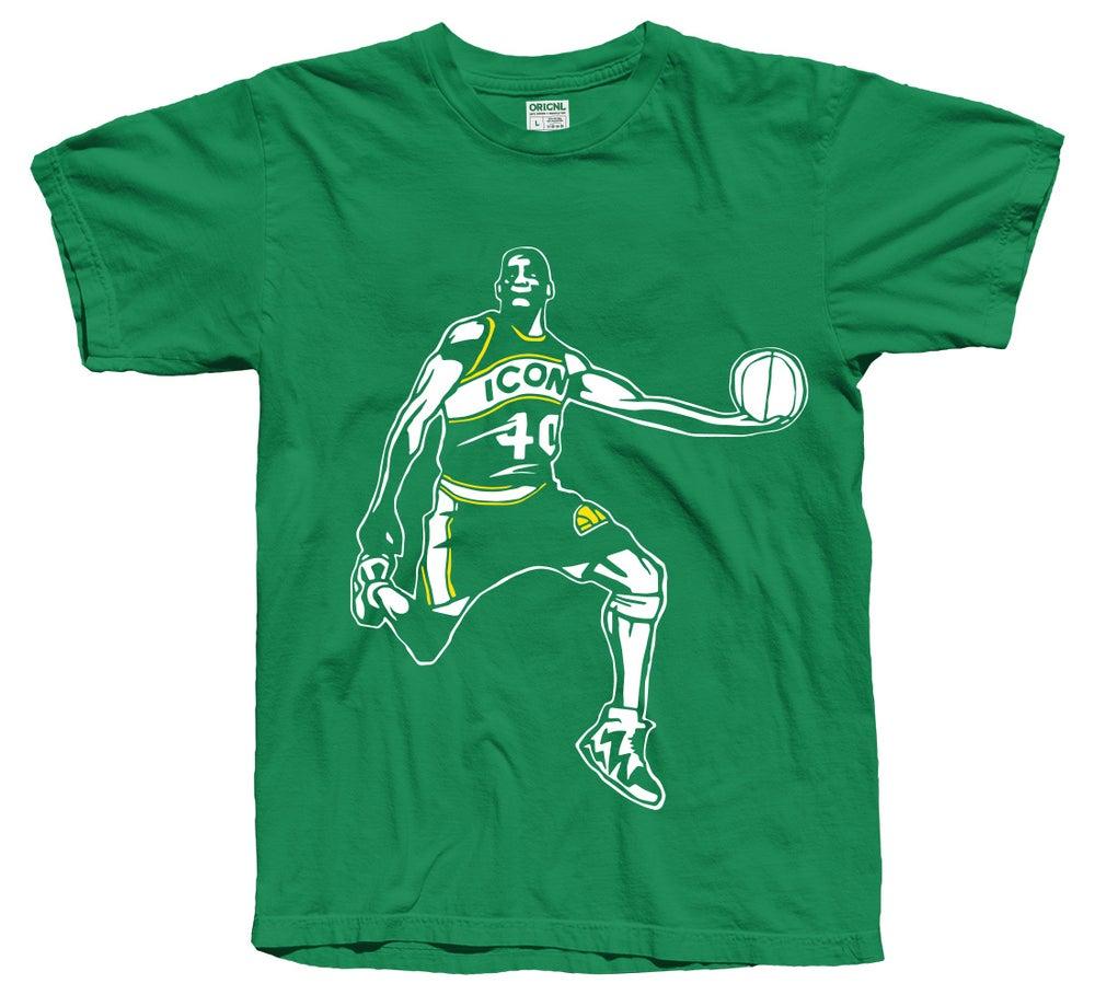 Image of Reignman Shirt (Green & Gold)