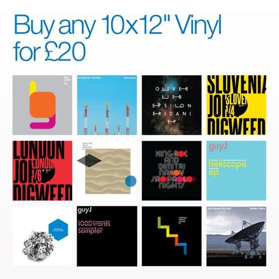 "Image of Bedrock Summer Sale Any 10 x 12"" Vinyl for £20"