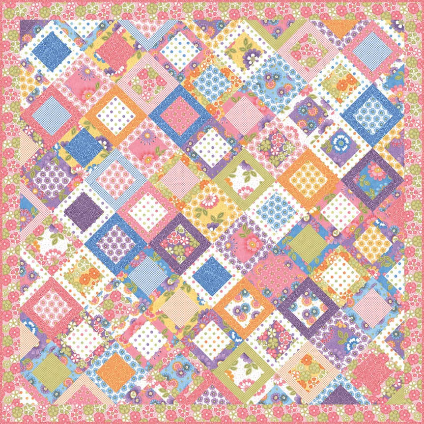 Quilt Patterns With 6 Inch Squares : Me and My Sister Designs ? Oh My Darling PDF pattern