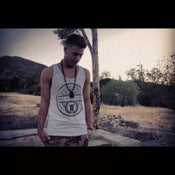 "Image of 3MG - ""We So Major"" Tank Top White with Black Design"