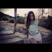 "Image of 3MG - ""We So Major"" Tank Top Light Heather Green with White Design"