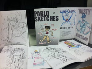 Image of Pablo Sketches #1