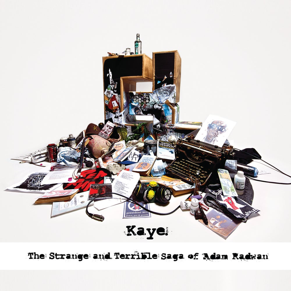 Image of Kaye-The Strange and Terrible Saga of Adam Radwan (2CD)