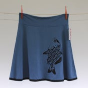 Image of Skirt Fishy - Blau